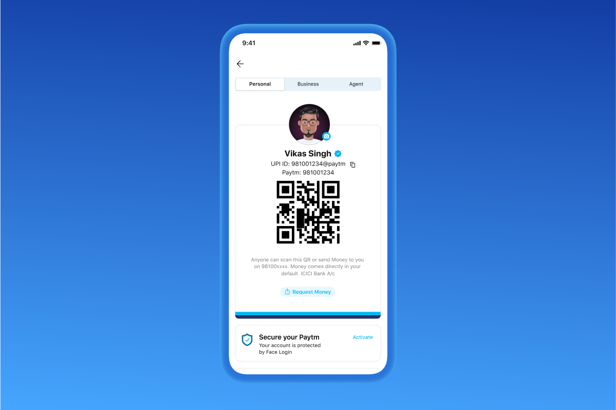 Paytm first time user flow