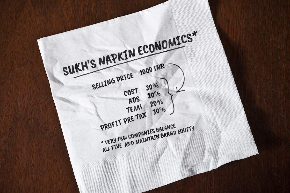 March - Napkin Economics For Tshirt
