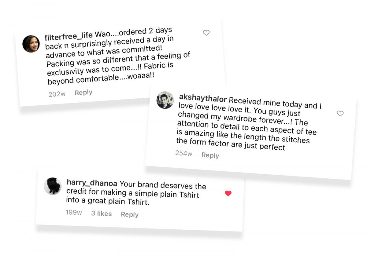 Positive reviews Indian D2C brand