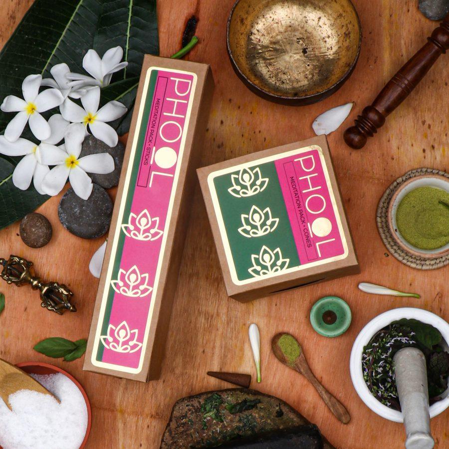 A Phool meditation pack