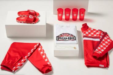 Pizza Hut merchandise fashion line
