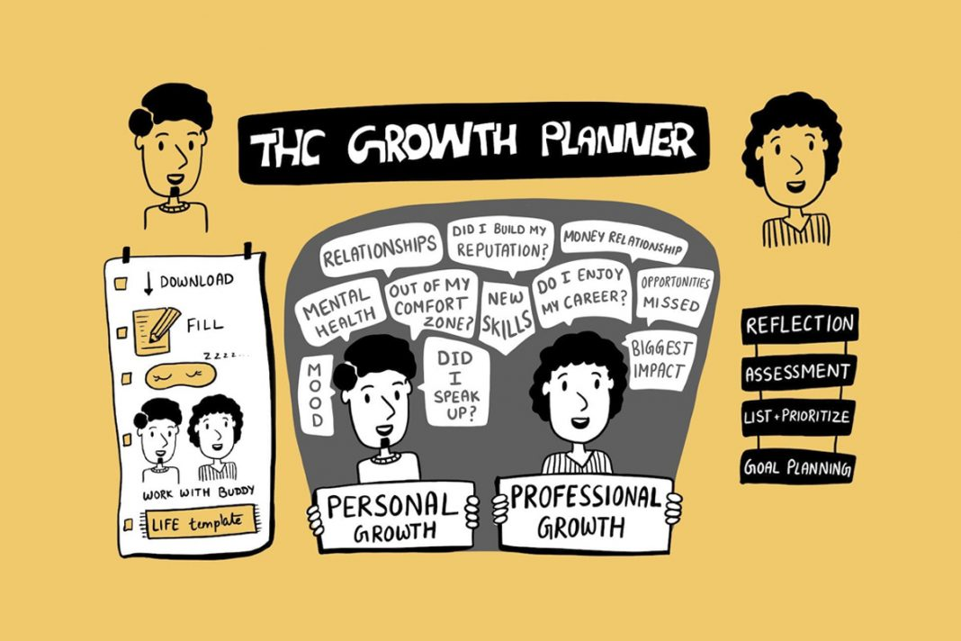 THC Personal & Professional Growth Planner