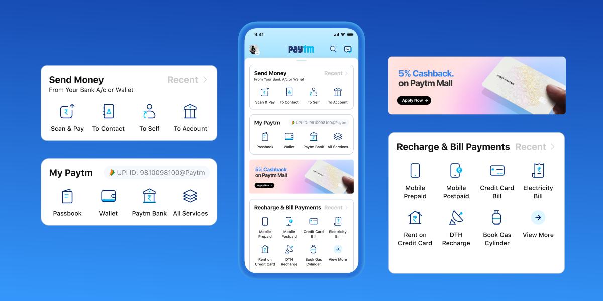 Paytm New UI Changes