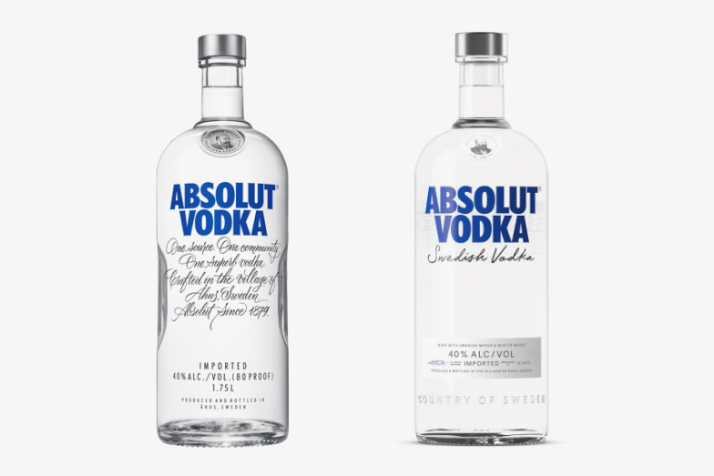 Why Absolut Changed Bottle Design