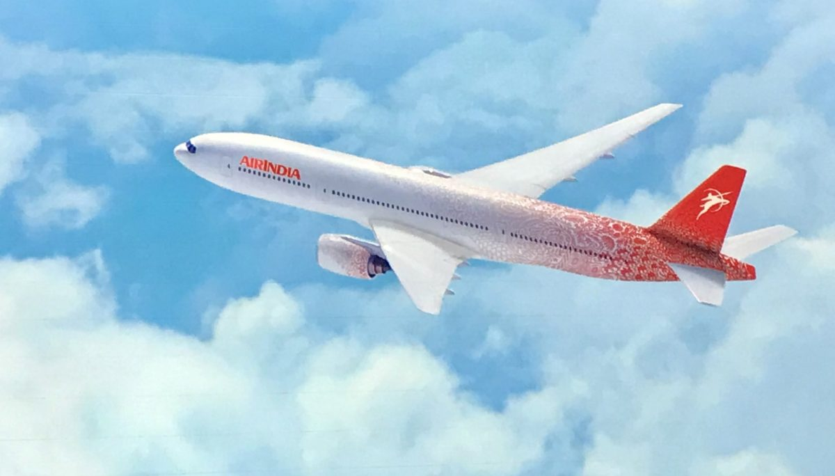 cato partners air india livery change